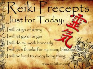 Reiki Precpets