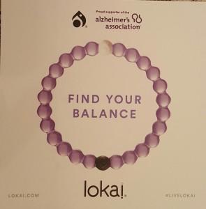 Alzheimer's Lokai bracelt